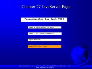 Chapter 27 JavaServer Page