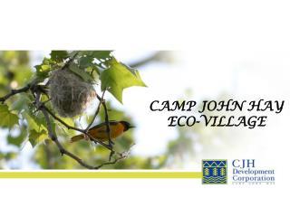 CAMP JOHN HAY ECO-VILLAGE