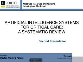 Mestrado Integrado em Medicina  Introdução à Medicina I