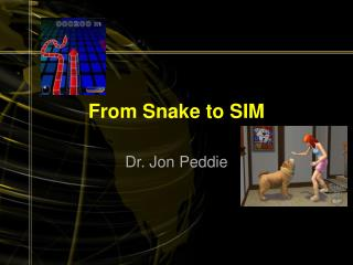 From Snake to SIM