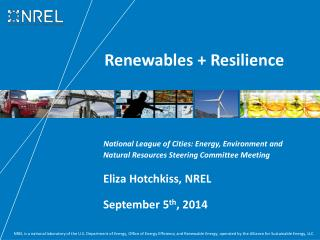 Renewables + Resilience