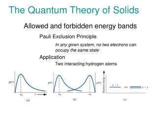 The Quantum Theory of Solids