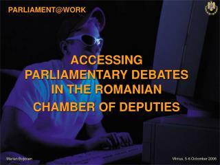 PARLIAMENT@WORK