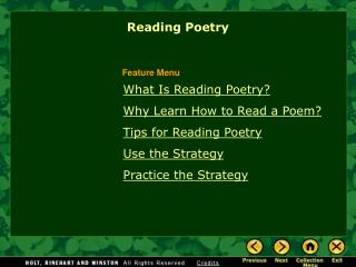 What Is Reading Poetry? Why Learn How to Read a Poem? Tips for Reading Poetry Use the Strategy