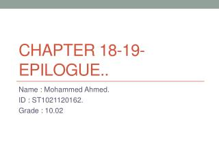 Chapter 18-19-epilogue..