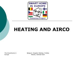 HEATING AND AIRCO