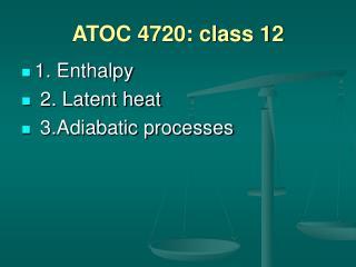 ATOC 4720: class 12