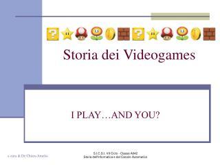 Storia dei Videogames