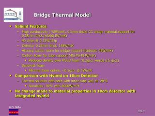 Bridge Thermal Model
