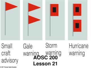 AOSC 200 Lesson 21