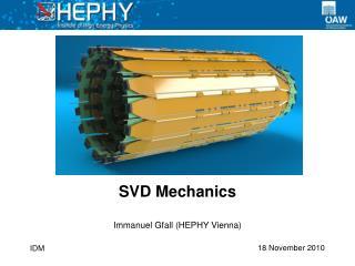 SVD Mechanics