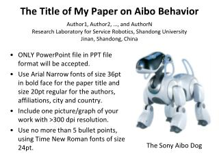 ONLY PowerPoint file in PPT file format will be accepted.