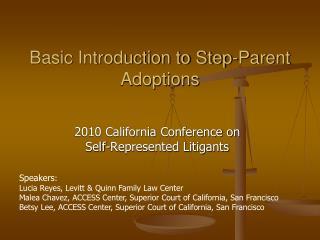 Basic Introduction to Step-Parent Adoptions