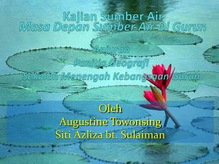 Kajian Sumber  Air
