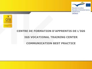COMMUNICATION AND BEST PRACTICE
