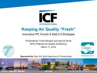 "Keeping Air Quality ""Fresh"""