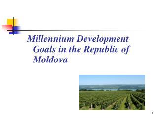 Millennium Development Goals in the Republic of Moldova