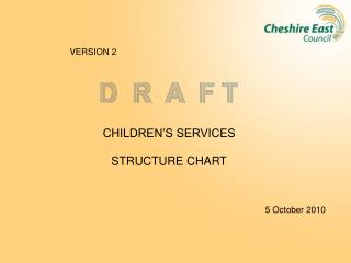CHILDREN'S SERVICES STRUCTURE CHART