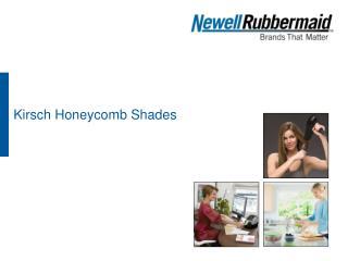Kirsch Honeycomb Shades