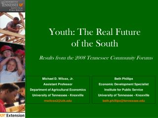 Youth: The Real Future of the South