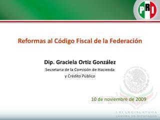 Reformas al Código Fiscal de la Federación