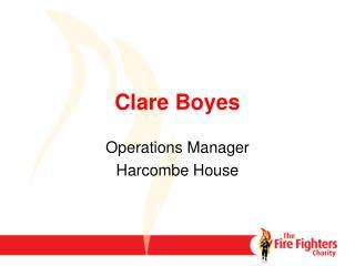 Clare Boyes