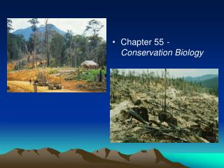 Chapter 55  - Conservation Biology