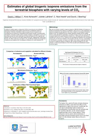 Total Annual VOC Emissions (Tg C yr -1 )