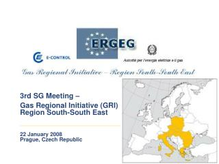 3rd SG Meeting –  Gas Regional Initiative (GRI) Region South-South East