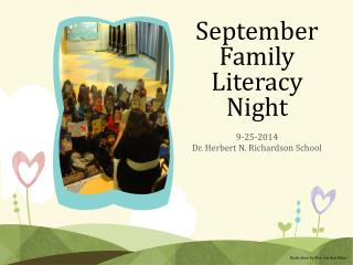 September Family Literacy Night