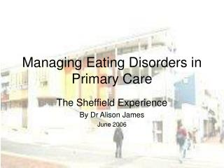 Managing Eating Disorders in Primary Care