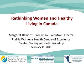 Rethinking Women and Healthy Living in Canada