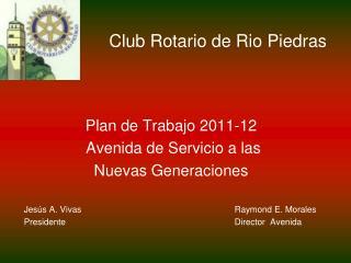 Club Rotario de Rio Piedras
