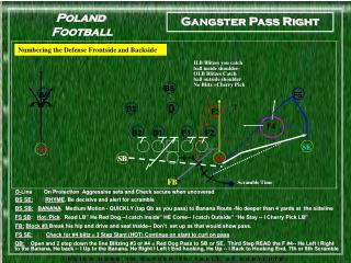 Gangster Pass Instructional