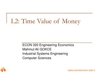 L2: Time Value of Money