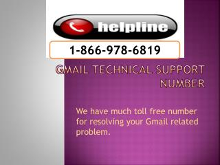 1-866-978-6819 Gmail tech support-Gmail Tech Support Toll fr