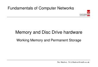 Memory and Disc Drive hardware