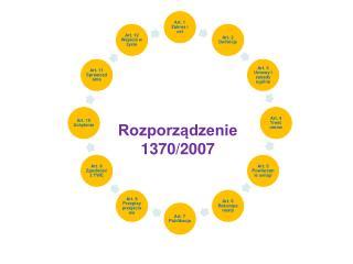 Rozporządzenie 1370/2007