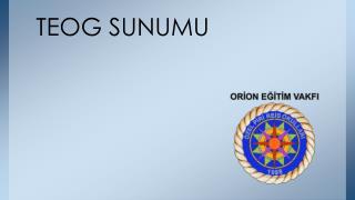 TEOG SUNUMU