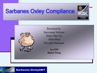 Presented by: Saravanan Velrajan Daisy Mae Go Allan Phan Parvathi Natarajan Acc/539 Richie Wong