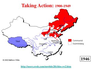 Taking Action:  1900-1949