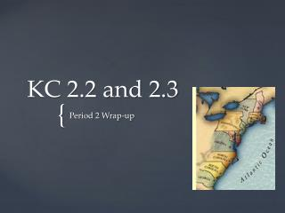 KC 2.2 and 2.3