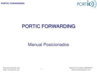 PORTIC FORWARDING