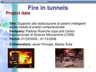 Fire in tunnels