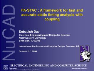 FA-STAC : A framework for fast and accurate static timing analysis with coupling
