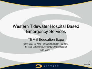 Western Tidewater Hospital Based Emergency Services