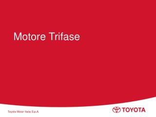Motore Trifase