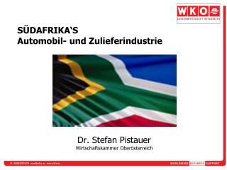 S ÜDAFRIKA'S Automobil- und Zulieferindustrie