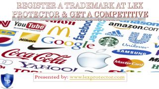 REGISTER A TRADEMARK AT LEX PROTECTOR
