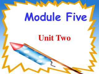 Module Five Unit Two